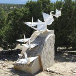 Rising Cranes by Kevin Box