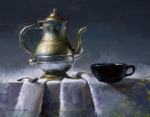 David Cheifetz, Daybreak, oil, 11 x 14.