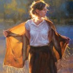 ANdrea Orr, Morning Has Broken, oil, 30 x 24.
