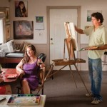 Randy Pijoan painting live models