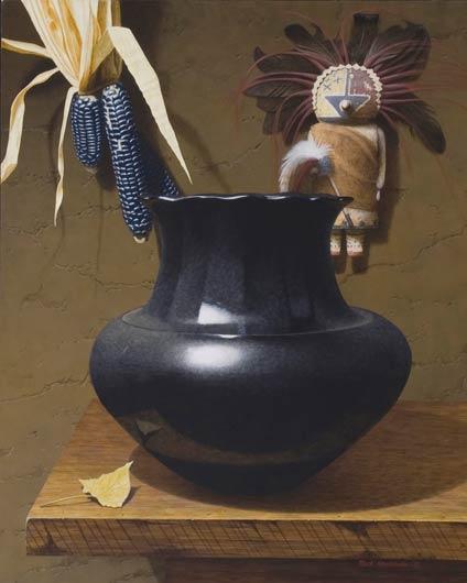 Pueblo Icons, Acrylic, 20x16