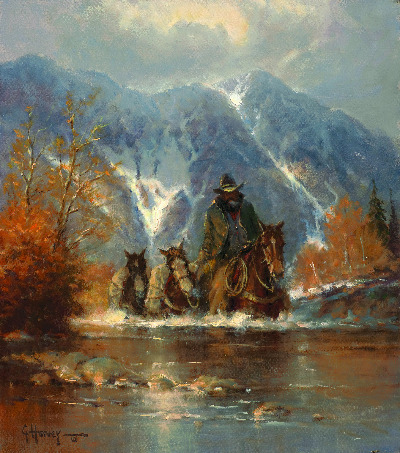 Teton Autumn, oil, 18 x 16