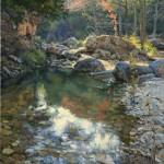 Rockbound, oil, 30 x 24.