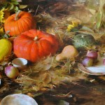 Autumn Still Life, oil, 30 x 40.