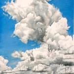 Delta Sky – Hwy 61, watercolor, 28 x 18.
