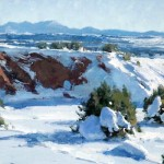 Matt Smith, San Felipe Winter, oil, 8 x 14.