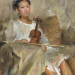 Violin by Mary Qian.