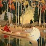 Fall Colors, oil, 34 x 50.