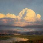Evenings Light, oil, 24 x 30.