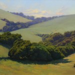In the Rolling Hills, oil, 20 x 24.