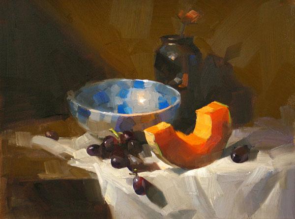 Extraordinarily Ordinary, oil, 12 x 16.