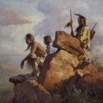 Among the Spirits of the Long-Ago People