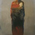 Standing Figure, oil, 36 x 24.