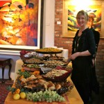 A festive stop on ARTfeast's Edible Art Tour