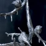 Ice Storm, bronze.