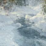 January Pearl, oil, 20 x 24.