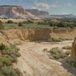 White Mesa Country, oil, 24 x 30.