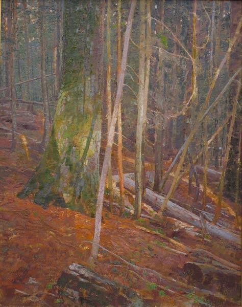 Fragment of Light, oil, 38 x 30.