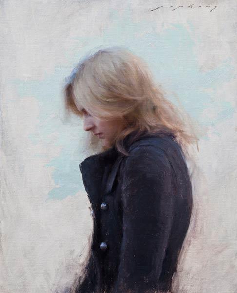 Chelsey, oil, 20 x 16.