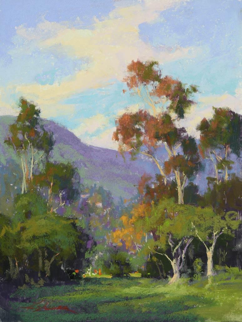California Style, pastel, 16 x 12.