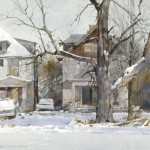 Winter on Gillham Road by Dean Mitchell.