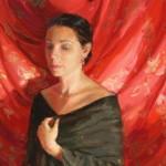 Angelica, oil, 16 x 24, by Melissa Gann