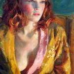 Ardent, oil, 12 x 20, by Melissa Gann