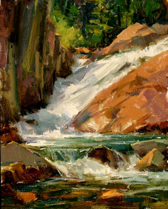 Falls on Eagle Creek by Gay Faulkenberry