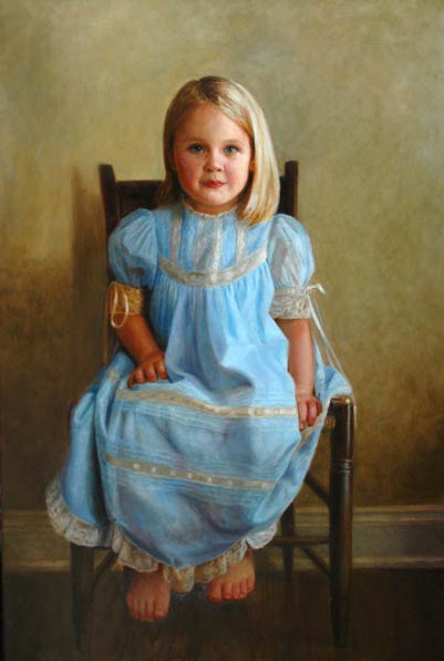 Portrait of Mary Alice by Patty Bailey Sheets