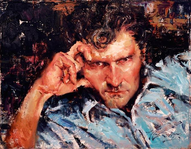 Self Portrait by Jeffrey Watts