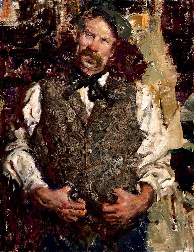 The Irishman, oil, 24 x 18.