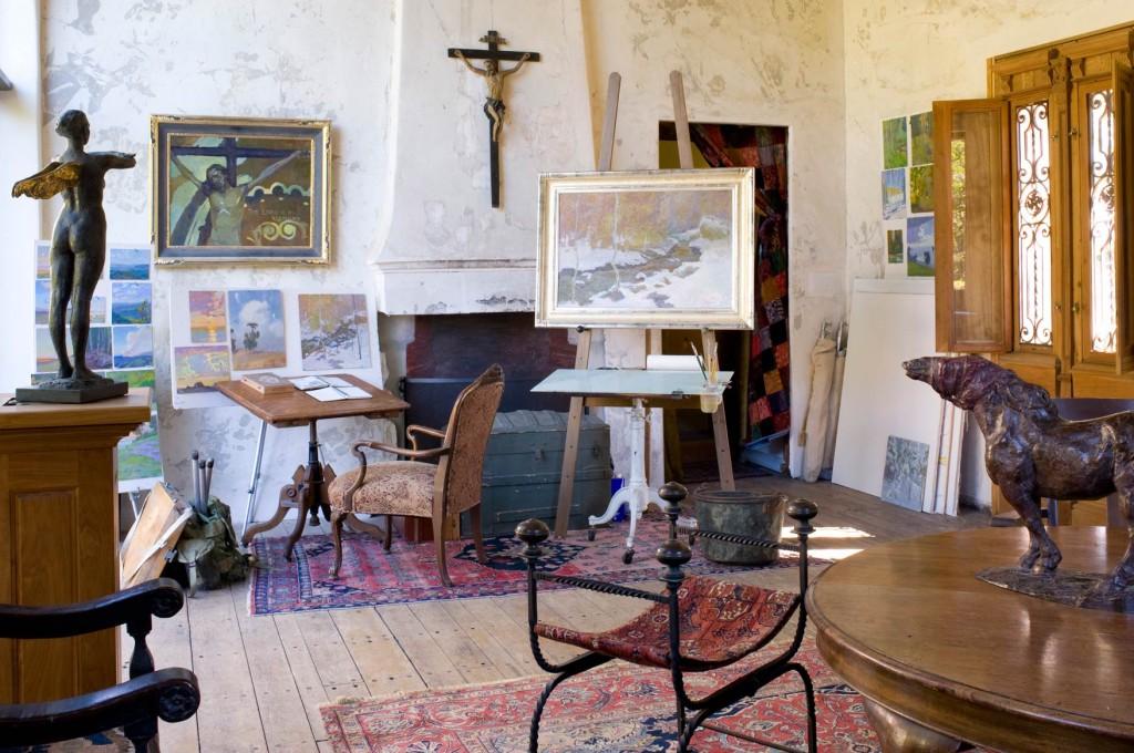 Inside Daniel Pinkham's studio