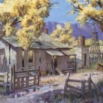 Tom Huill, Abandoned, oil, 20 x 30.