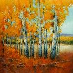 Aspen Indian Summer by David Mayer at Total Arts Gallery