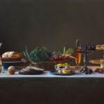 Harvest, oil, 24 x 30.