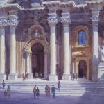 Tom Hill, Church Facade Sicily