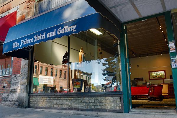 Joshua Been's art studio in Salida, CO