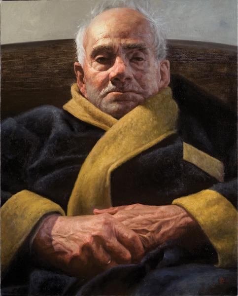 Albert Ramos Cortes, The Man I Loved, oil, 30 x 24.