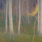 David Grossmann, Sapling, oil, 14 x 24.