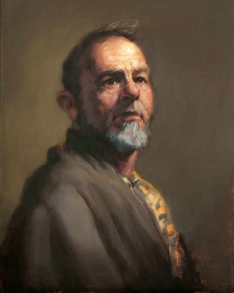 Taeil Kim, Richard, oil, 20 x 16.