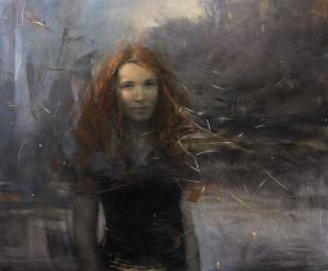 Stanka Kordic Maya, oil, 30 x 36.