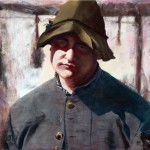 Robert Talbert, Soldier Boy, pastel, 16 x 20.