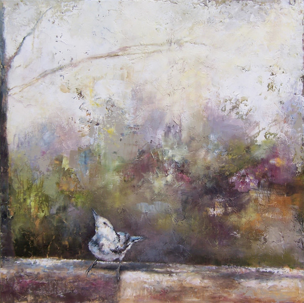 Tracey Lane, Under the Mulberry Tree, 45 x 45.