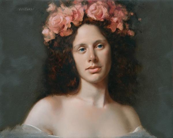 William Whitaker, High Summer, oil, 8 x 10.