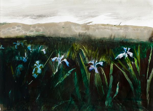 Andrew Wyeth, Irises, Charleston Art Auction.