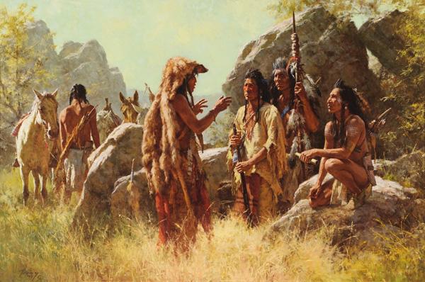 Howard Terming, Scout's Report, Coeur d'Alene Art Auction.