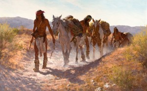 Howard Terpning, Plunder From Sonora, 1982, Heritage Auctions.