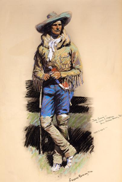 Remington Frederic (1861-1909), John-Ermine, 1903, Jackson Hole Art Auctions.