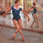 Mitch Baird, Moriah, oil, 14 x 11.