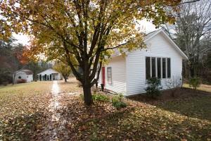 Scott Burdick and Susan Lyon's art studios in Quaker Gap, NC